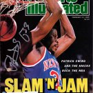 Patrick Ewing Knicks Autographed Signed Sports Illustrated Magazine STEINER