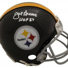 Joe Greene Autographed Signed Pittsburgh Steelers Mini Helmet JSA