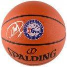 Joel Embiid Autographed Signed Philadelphia 76ers Logo Basketball FANATICS