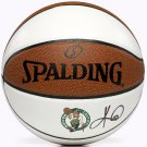 Kyrie Irving Autographed Signed Boston Celtics White Panel Basketball PANINI
