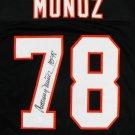 Anthony Munoz Autographed Signed Cincinnati Bengals Jersey JSA