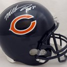 Mike Singletary Signed Autographed Chicago Bears FS Helmet BECKETT
