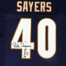 Gale Sayers Autographed Signed Chicago Bears Jersey PSA