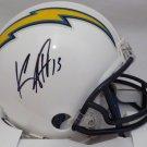 Keenan Allen Autographed Signed Los Angeles Chargers Mini Helmet BECKETT