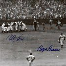Bobby Thomson & Ralph Branca Signed Autographed 8x10 Photo JSA
