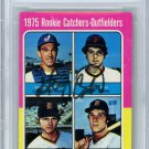 Gary Carter Montreal Expos Signed Autographed 1975 Topps Rookie Card BECKETT