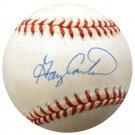 Gary Carter Mets Expos Signed Autographed NL Baseball BECKETT