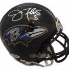 Joe Flacco Autographed Signed Ravens MIni Helmet PSA