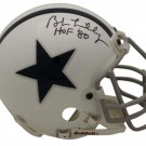 Bob Lilly Autographed Signed Dallas Cowboys Mini Helmet OA COA