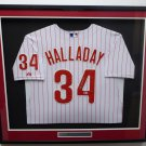 Roy Halladay Signed Autographed Framed Philadelphia Phillies Jersey BECKETT