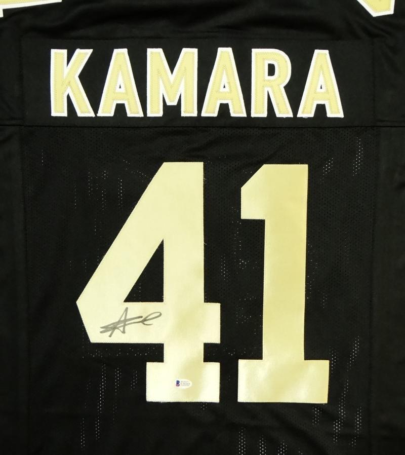 Alvin Kamara Autographed Signed New Orleans Saints Jersey BECKETT