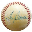 Tom Seaver New York Mets Autographed Signed Official National League Baseball BECKETT