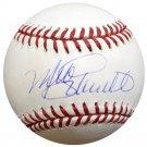 Mike Schmidt Philadelphia Phillies Autographed Signed 1980 WS Baseball BECKETT