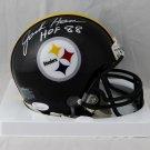 Jack Ham Autographed Signed Pittsburgh Steelers Mini Helmet JSA