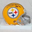 Jack Lambert Autographed Signed Pittsburgh Steelers Mini Helmet JSA