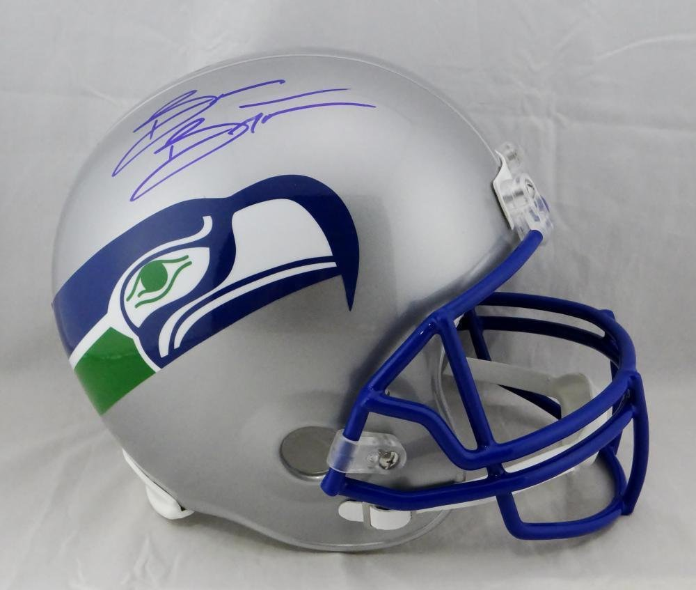 Brian Bosworth Autographed Signed Seattle Seahawks FS Helmet BECKETT