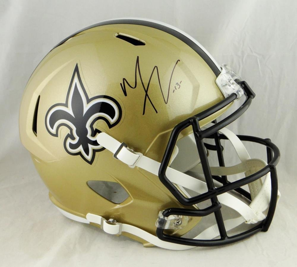 Michael Thomas Autographed Signed New Orleans Saints FS Speed Helmet JSA