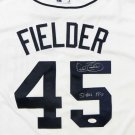 Cecil Fielder Autographed Signed Detroit Tigers Majestic Jersey JSA