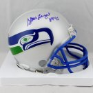 Steve Largent Autographed Signed Seattle Seahawks Mini Helmet JSA