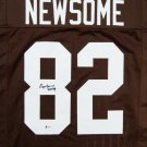 Ozzie Newsome Signed Autographed Cleveland Browns Jersey BECKETT