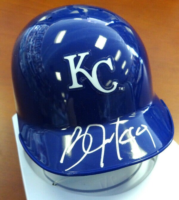 Bo Jackson Signed Autographed Kansas City Royals Mini Helmet PSA