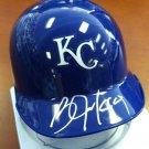 Bo Jackson Signed Autographed Kansas City Royals Mini Helmet PSA