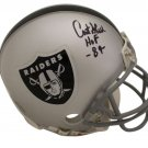 Art Shell Signed Autographed Oakland Raiders Mini Helmet JSA