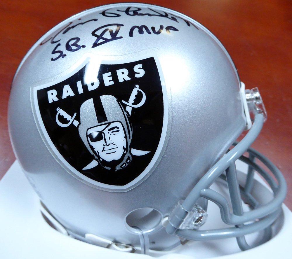 Jim Plunkett Signed Autographed Oakland Raiders Mini Helmet BECKETT
