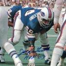Joe Delamielleure Signed Autographed Buffalo Bills 8x10 Photo JSA