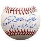 Pete Rose Cincinnati Reds Autographed Signed MLB Baseball STEINER