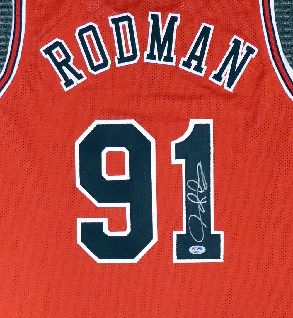 Dennis Rodman Autographed Signed Chicago Bulls Jersey BECKETT