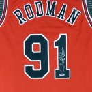 Dennis Rodman Autographed Signed Chicago Bulls Jersey PSA