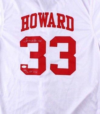 Frank Howard Signed Autographed Washington Senators Jersey JSA