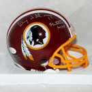 Doug Williams Autographed Signed Washington Redskins Mini Helmet JSA