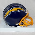 Kellen Winslow Autographed Signed San Diego Chargers Mini Helmet JSA