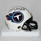 Marcus Mariota Signed Autographed Tennessee Titans Mini Helmet JSA