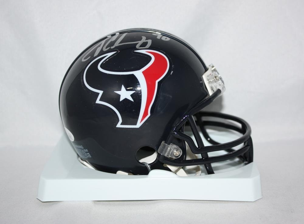 Jadeveon Clowney Autographed Signed Houston Texans Mini Helmet JSA