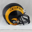 Eric Dickerson Autographed Signed Los Angeles Rams Mini Helmet BECKETT