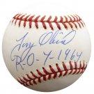 Tony Oliva Minnesota Twins Autographed Signed Official AL Baseball BECKETT