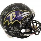 2012 Baltimore Ravens (27 Sigs) Autographed Signed SB XVLII Helmet JSA