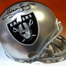 Howie Long Autographed Signed Oakland Raiders Mini Helmet PSA