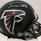 Calvin Ridley Signed Autographed Atlanta Falcons Mini Helmet BECKETT
