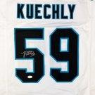 Luke Kuechly Autographed Signed Carolina Panthers Jersey JSA
