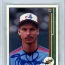 Randy Johnson Montreal Expos Signed Autographed 1989 Upper Deck Rookie Card BECKETT