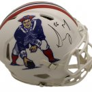 Sony Michel Autographed Signed New England Patriots Speed Proline FS Helmet BECKETT