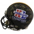 2005 Pittsburgh Steelers (27 Sigs) Autographed Signed SB XL Helmet BECKETT