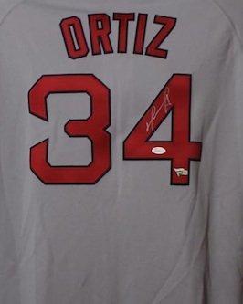 David Ortiz Signed Autographed Boston Red Sox Majestic Jersey JSA