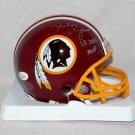 Mark Rypien Signed Autographed Washington Redskins Mini Helmet JSA