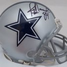 Jay Novacek Signed Autographed Dallas Cowboys Mini Helmet BECKETT