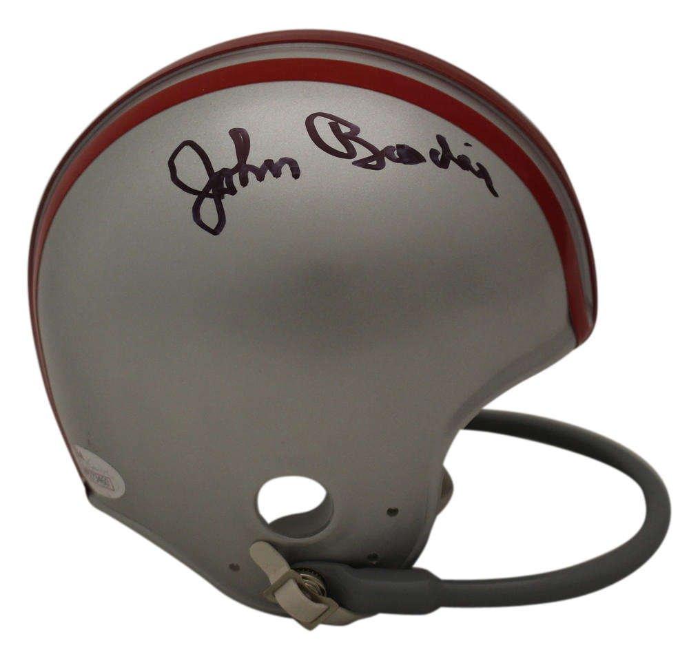 John Brodie Autographed Signed San Francisco 49ers Mini Helmet JSA